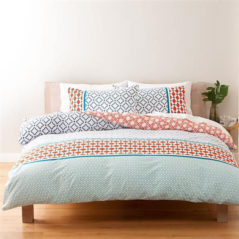 Homemaker Fahri Print Quilt Cover Set Single Kmart 14 Quilt