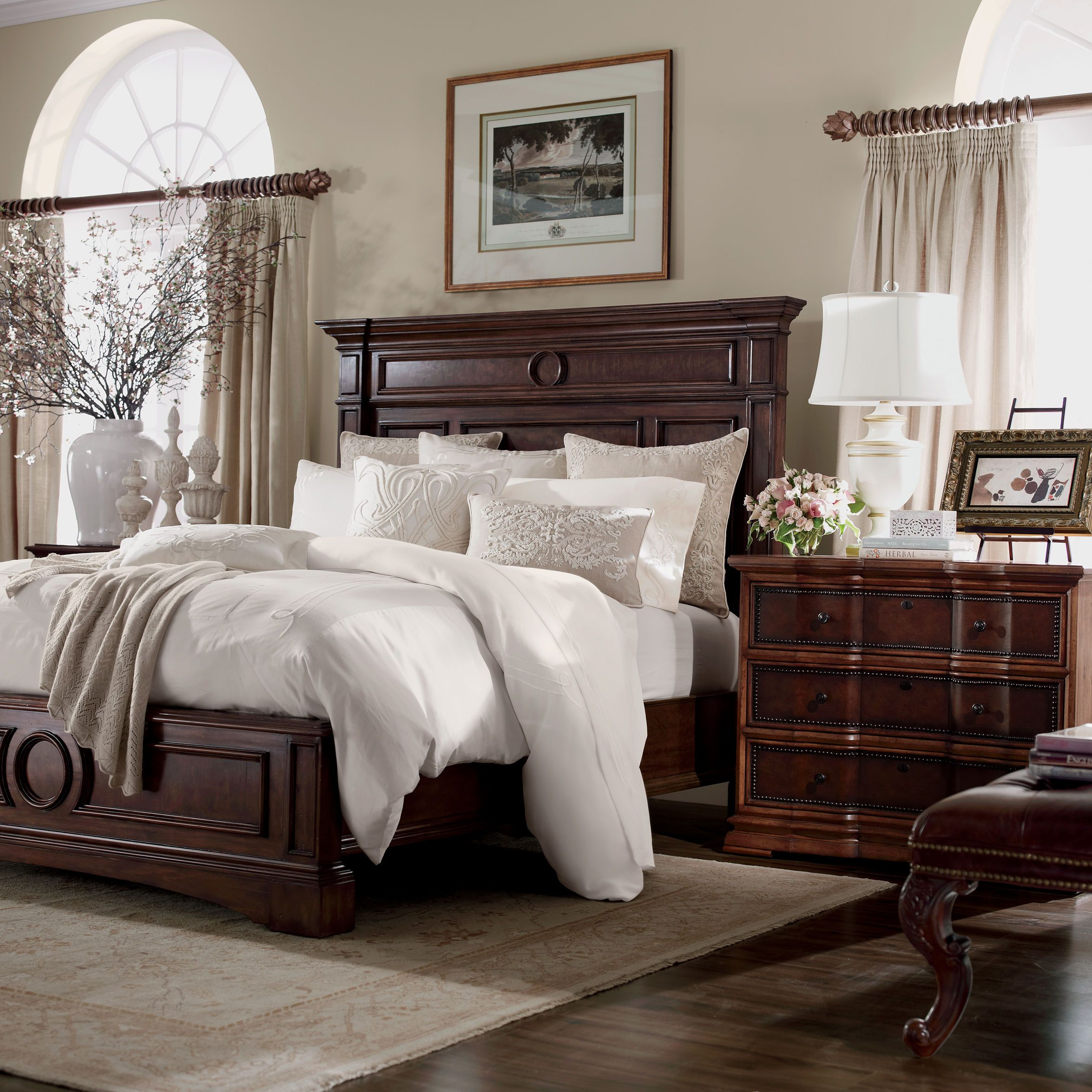 warwick bed ethan allen us there 39 s no place like home pinterest bedrooms master bedroom. Black Bedroom Furniture Sets. Home Design Ideas
