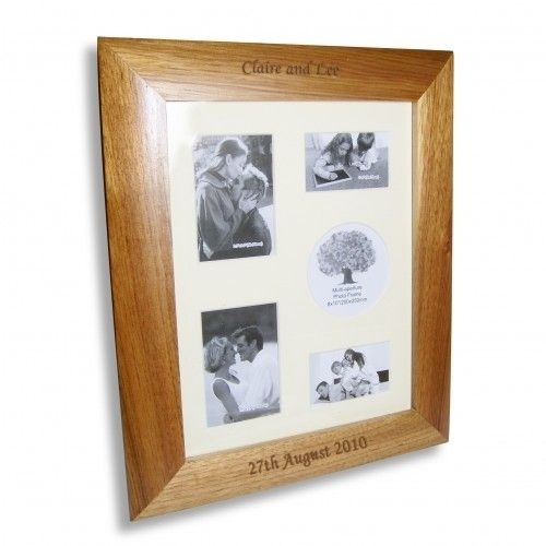 Oak Collage Frame 10 X 8 1999 The Wedding Gift Company