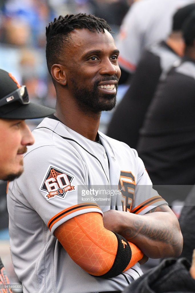 Andrew McCutchen,SF // April 1, 2018 at LAD Andrew