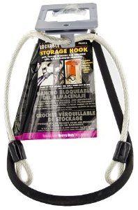 Lehigh Group Lockable Looping Storage Hook Llh10 Pack Of 6 By Lehigh 46 08 Accommodates Any Standard Lock Vinyl Coated Steel F Storage Hooks Lehigh Vinyl
