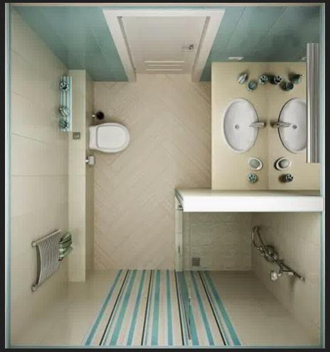 desain kamar mandi minimalis unik dan unyu untuk rumah