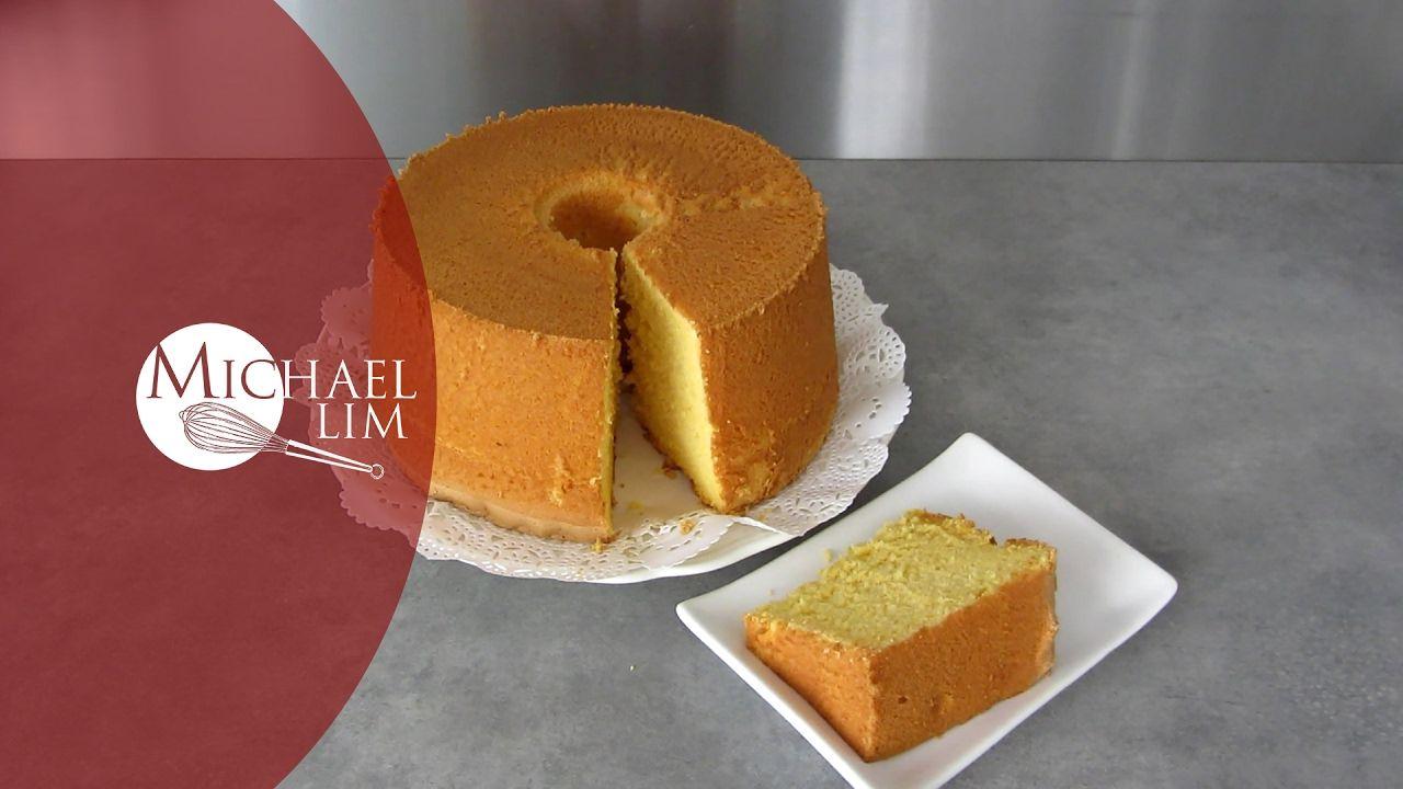 Orange Chiffon Cake Michael Rim Youtube Orange Chiffon Cake Orange Cake Easy Chiffon Cake