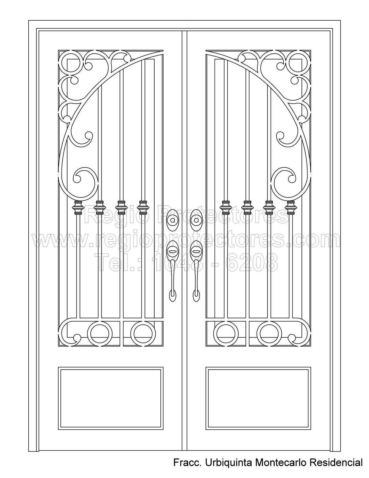 Imagenes de puertas de entrada de herreria buscar con - Puertas de herreria para entrada principal ...