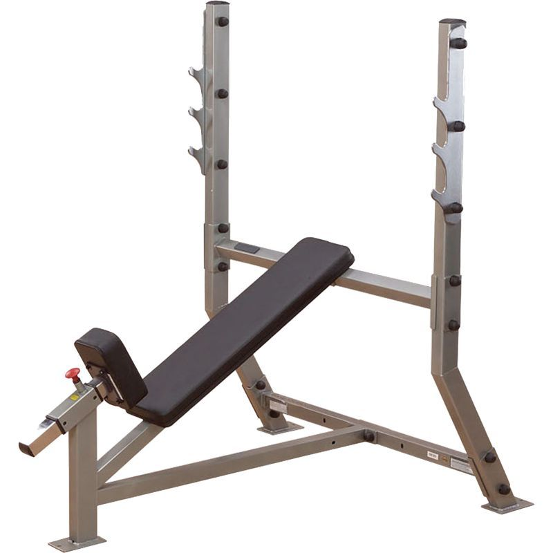 Body solid pro clubline sib359g olympic incline weight