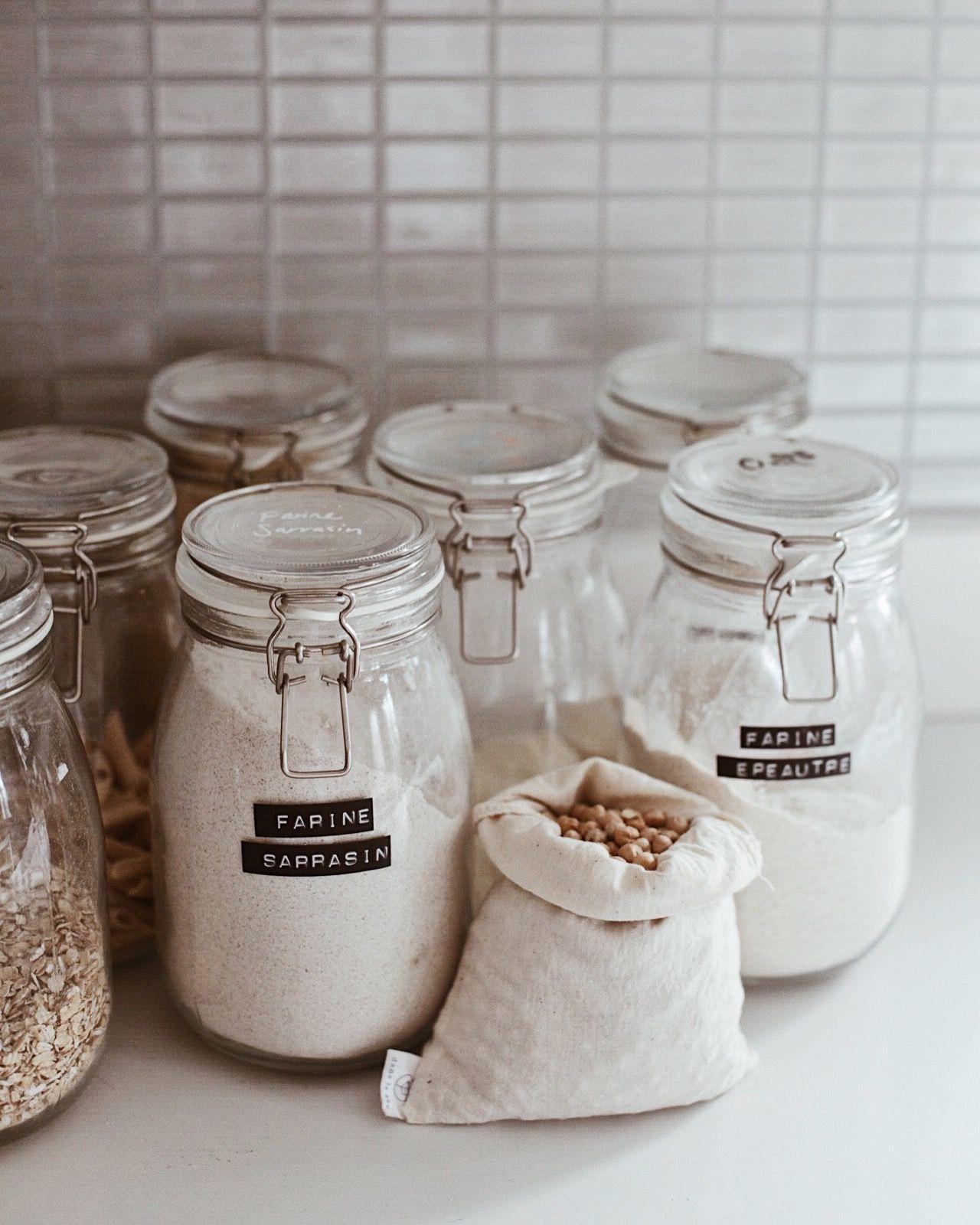 reusable bulk bag zero waste kitchen sustainable kitchen plastic free living on kitchen organization zero waste id=33039
