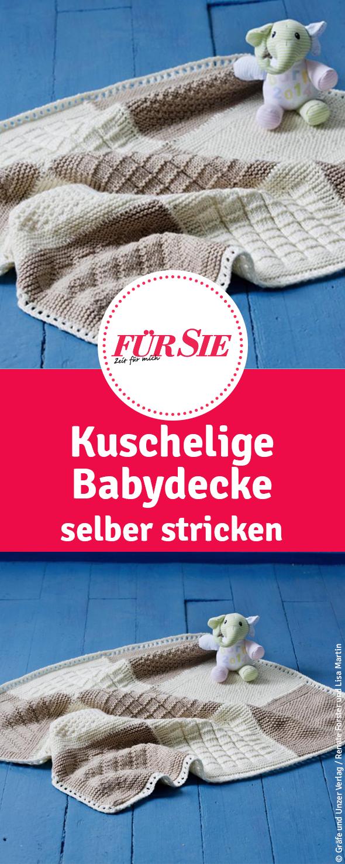 Photo of Kuschelige Babydecke