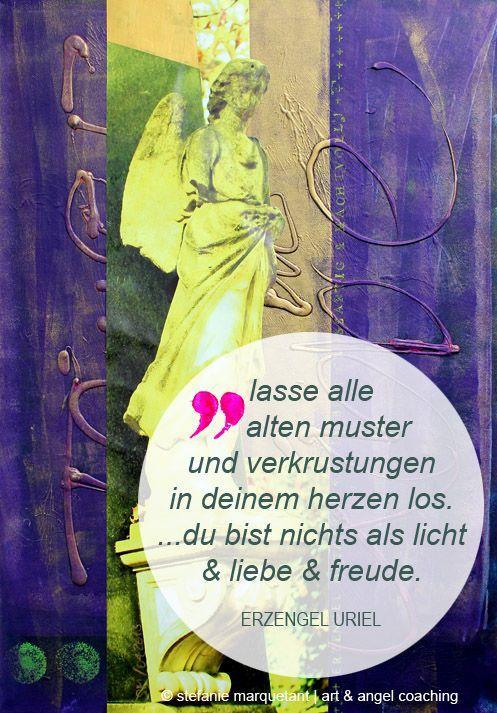 Fastenzeit = Detox-Zeit: Lasse mithilfe von Erzengel Uriel alle alten Muster & Verkrustungen in deinem Herzen los.   www.stefanie-marquetant.de/2014/03/06/engelbotschaft-erzengel-uriel/