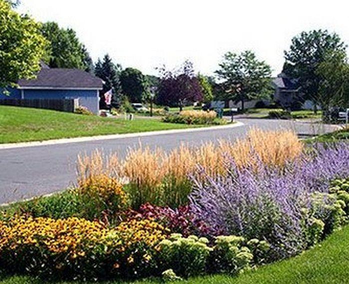 Rain Garden Design Landscaping Front Yards_12 Ideas