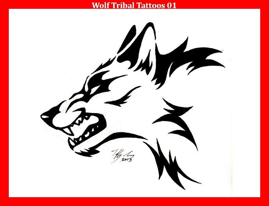 43 best tribal tattoos  wolf tattoo design wolf tattoos