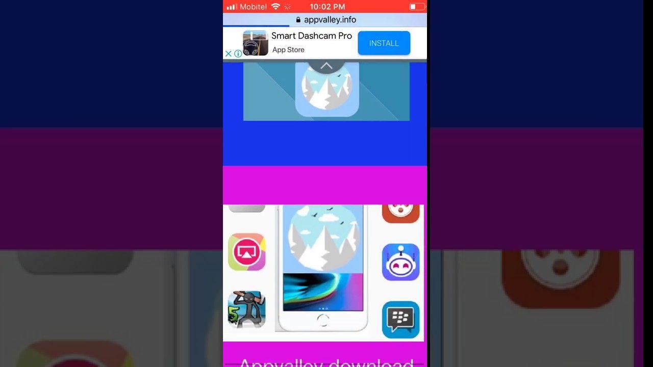 Appvalley install iPhone, iPad running iOS 12 2 - iOS 12