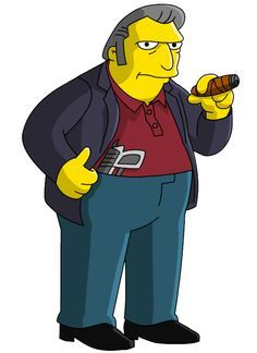 Tony El Gordo Matt Groening Ftw En 2019 Los Simpsons
