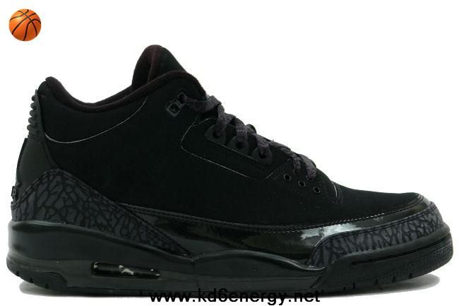new product 7a0ba 5cf1a Black Cat Black Dark Charcoal-Black Air Jordan 3 III Retro For Sale