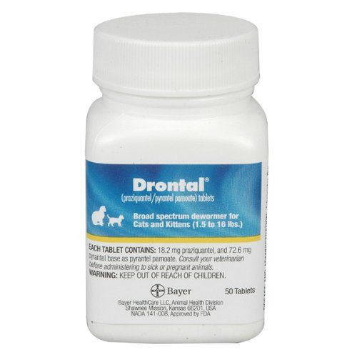 Drontal For Cats 50 Tablets Read More Reviews Of The Product By Visiting The Link On The Image Pet Meds Cat Health Cats And Kittens