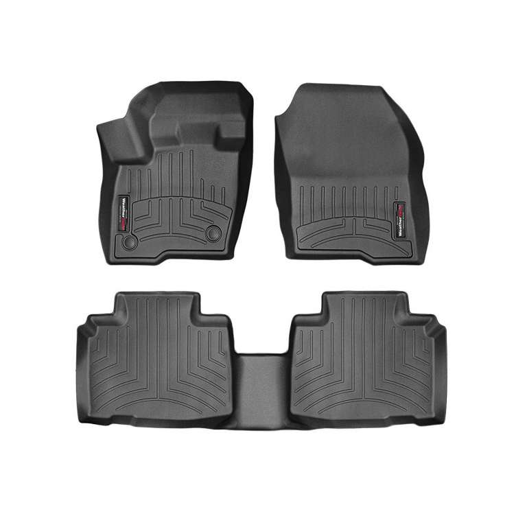 7. WeatherTech 1st and 2nd Row Custom Fit Ford Edge