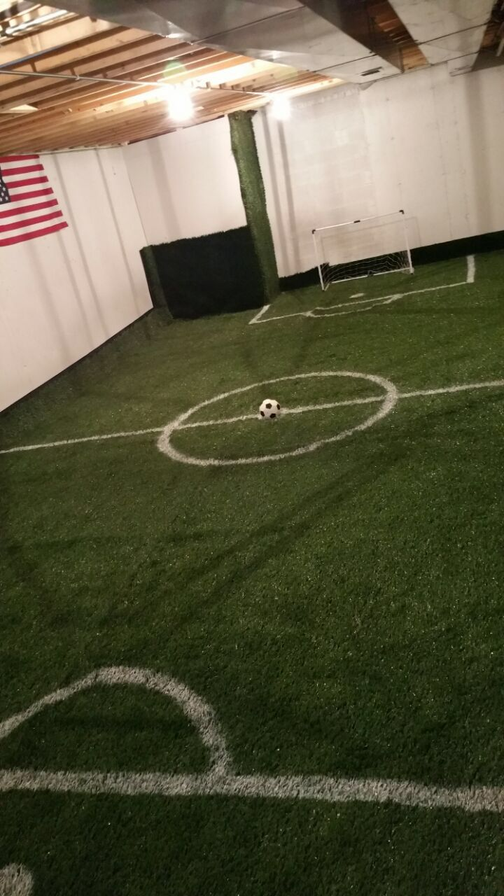 Basement Soccer Field More