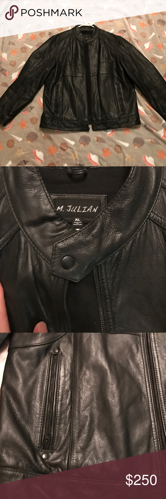 M. Julian men's 100 leather jacket Bought this for my