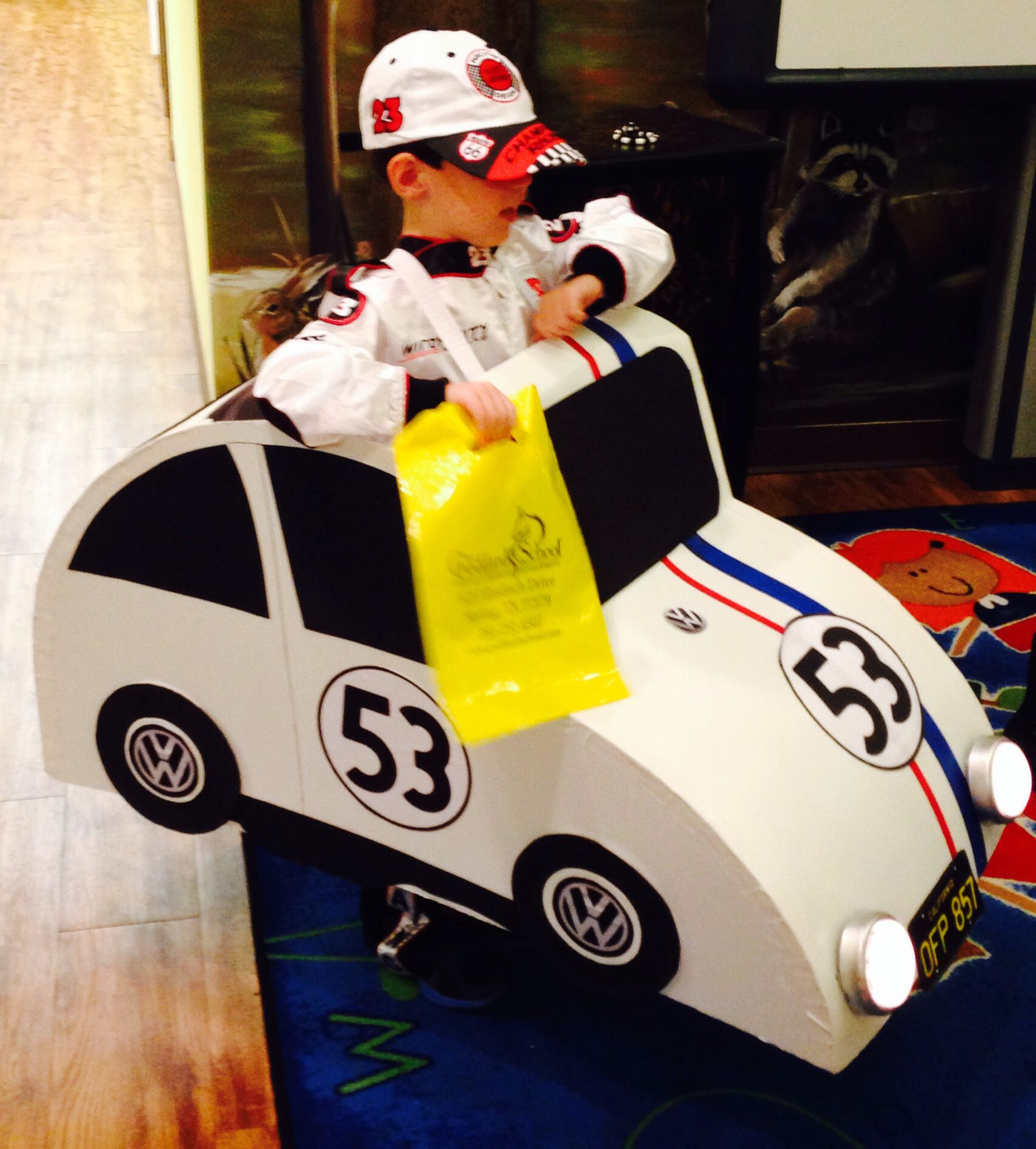 Do it yourself herbie costume halloween pinterest costumes do it yourself herbie costume solutioingenieria Images