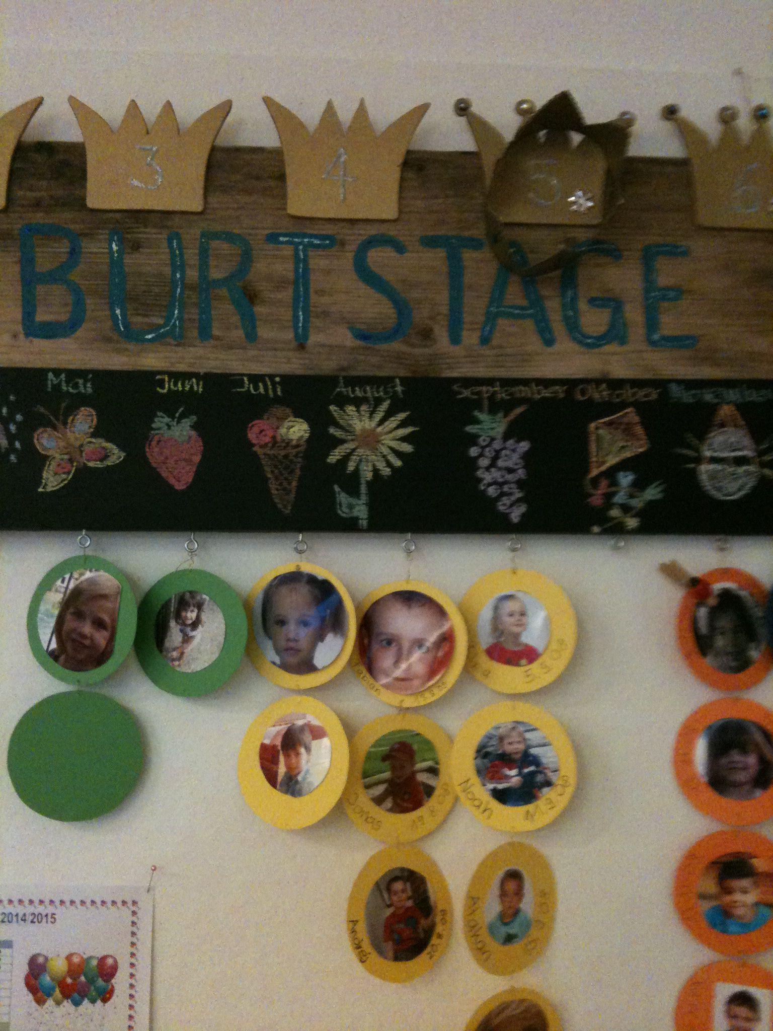 Geburtstagskalender   Kindergarten   Pinterest   Kalender ...