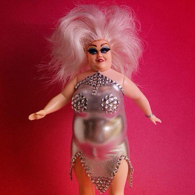 Born To Be Cheap!  Custom Divine doll. http://www.flickr.com/photos/art-i-ficial/4804376220/