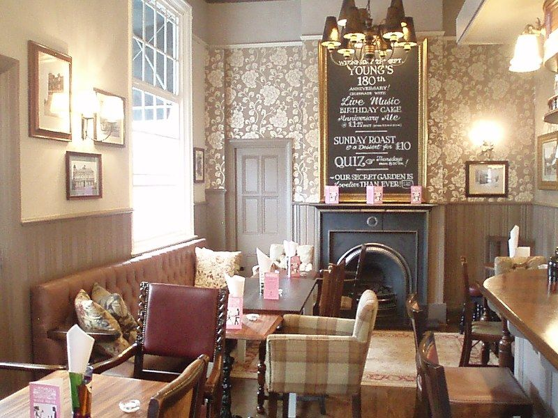 Country pub inspiration feature wall taken from