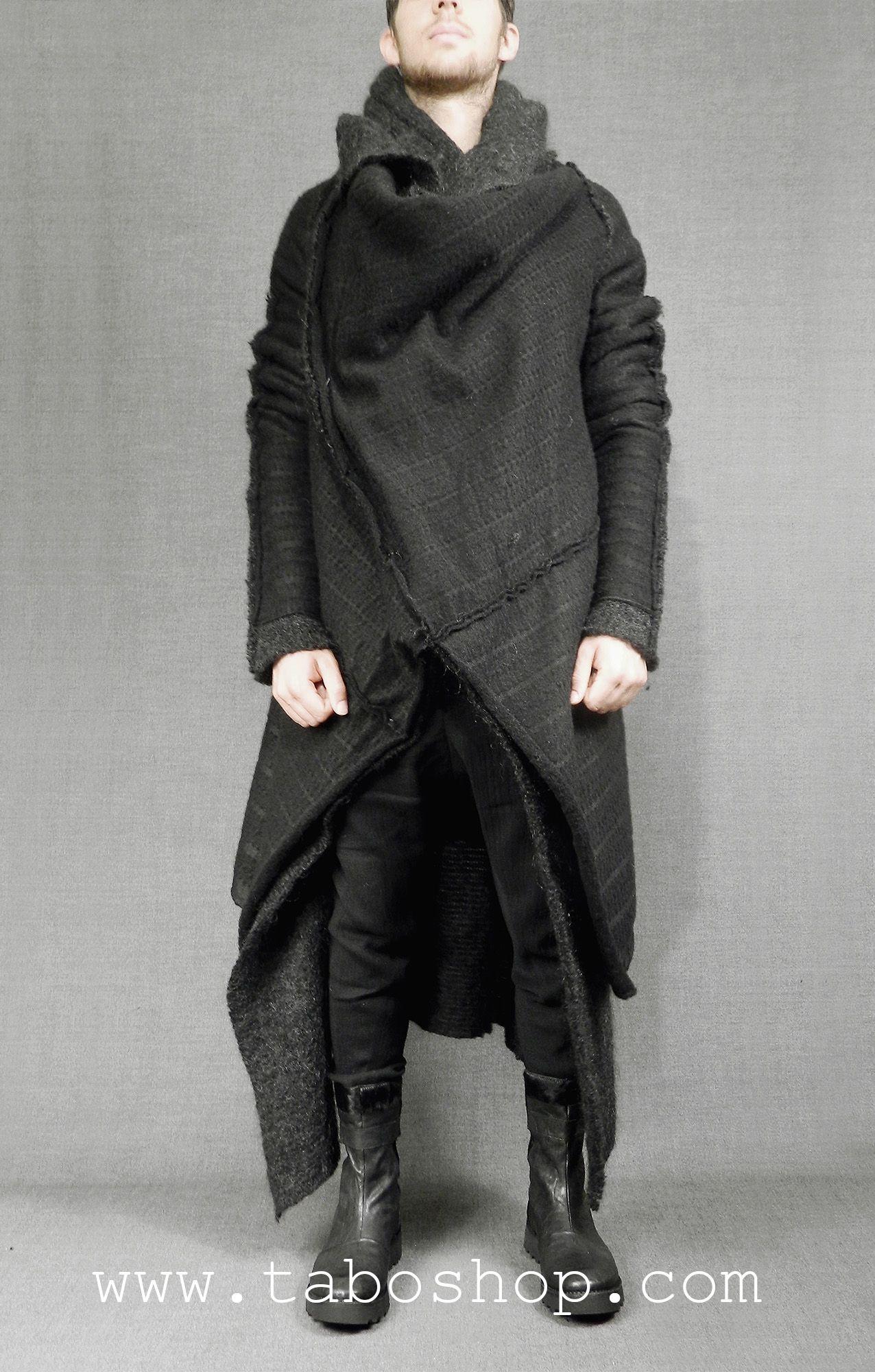 SIMONA TAGLIAFERRI WMD10 Wool coat with double layer 80% wool 20 ...