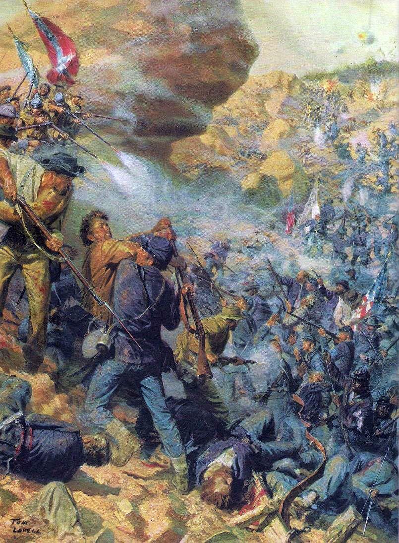 Siege Of Petersburg American Civil War Art