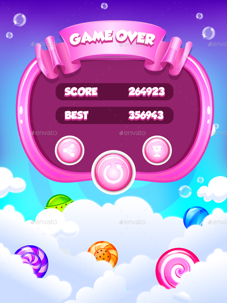 Sweet Candy Pop Match 3 Puzzle Candy match, Match 3