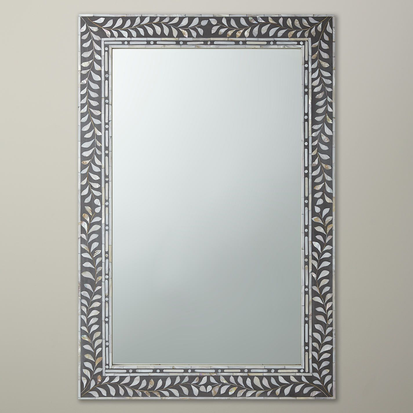Mother Of Pearl Inlay Mirror Frame Mother Of Pearl Mirror Mirror Wall Bone Inlay Mirror