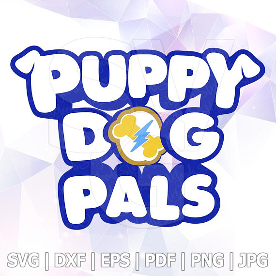 Puppy Dog Pals Logo Svg Rolly Bingo Dxf Vector Layered Cut Files