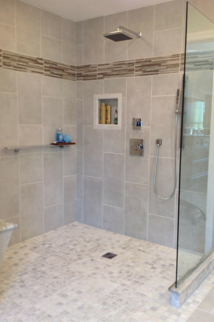 How to remodel an odd shaped custom shower enclosure | Shower ...