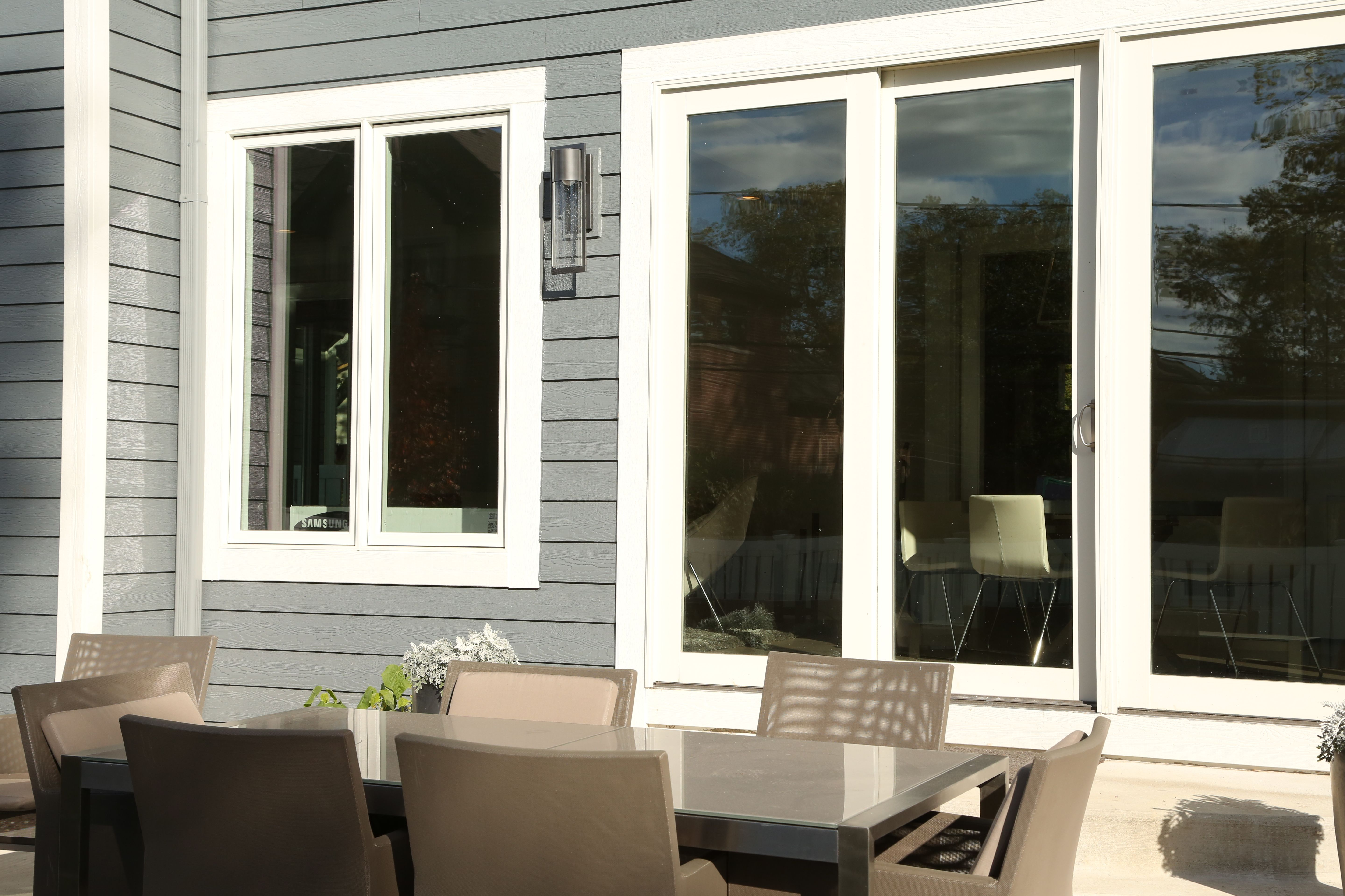 Cascou0027s Custom Sliding Patio Door Along With Cascou0027s Casement Windows  Embrace The Attributes That Shine Brightest