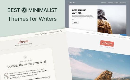 25 Best Minimalist WordPress Themes for Writers (2017) | Minimalist ...