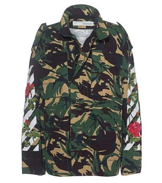 3005fa189b24d Indie Designs Diagonal Roses Camouflage M65 Jacket in 2019 | Men's ...