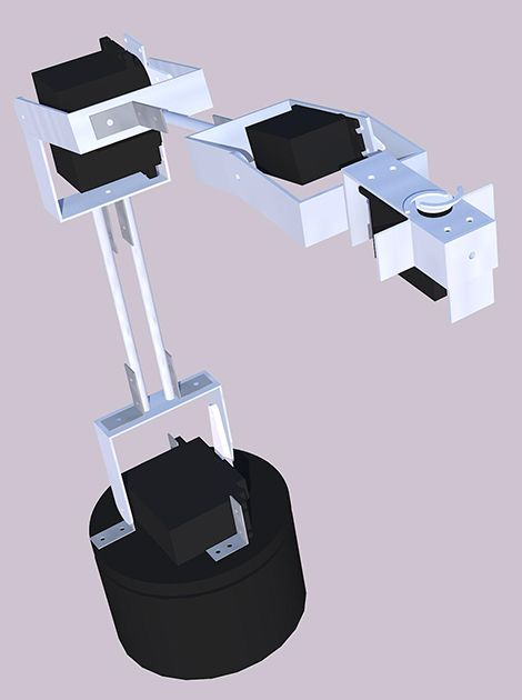 Robotics arm