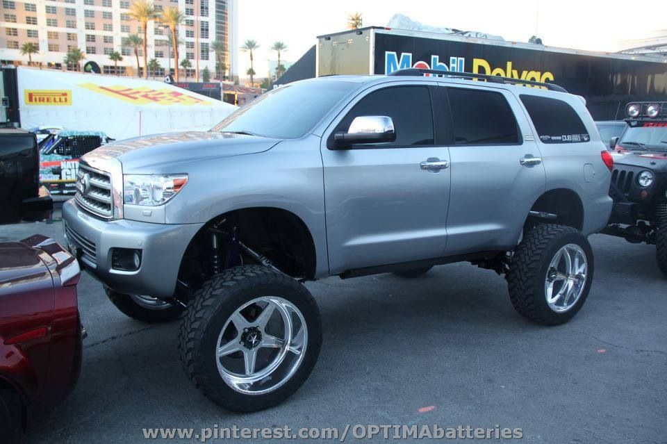 Toyota Sequoia Lifted Trucks Pinterest
