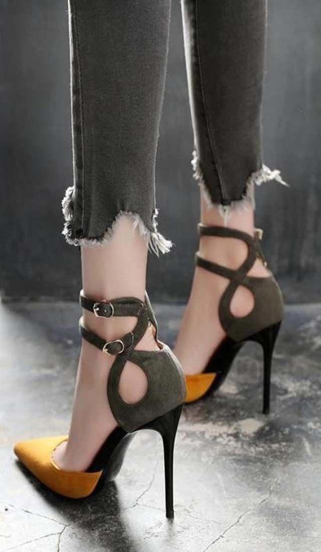 cute designer heels