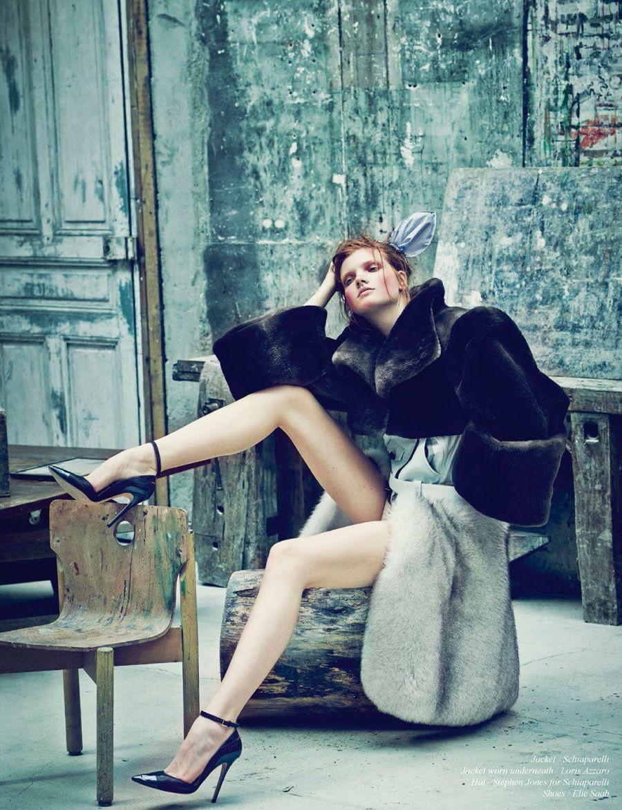 Schön Magazine #26 Anastasia Ivanova by Nicolas Guerin   Fashion Editorials