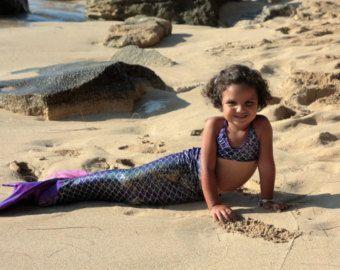 LITTLE MERMAID  completo cumpleaños cola de sirena sirena by MTBGBOUTIQUE   Etsy
