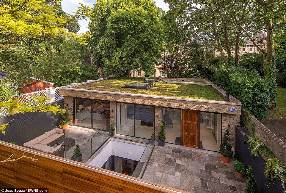 The 8ft High 4 5m Iceberg Home In One Of London S Poshest Postcodes Underground Homes House Hampstead