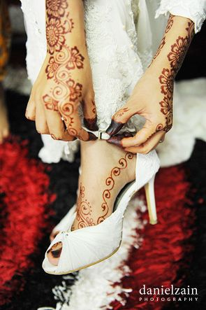 Malaysian Malay Wedding Henna Malay Southeastasia Asia