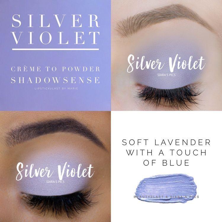 Silver Violet ShadowSense, LashSense and eye care. I would