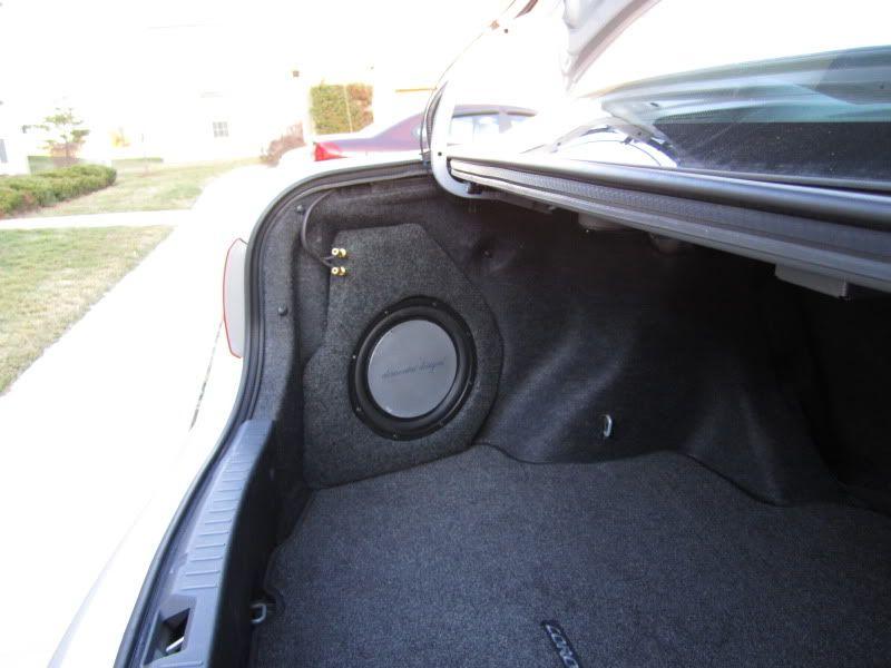diy trunk corner subwoofer box carrr subwoofer box, diy