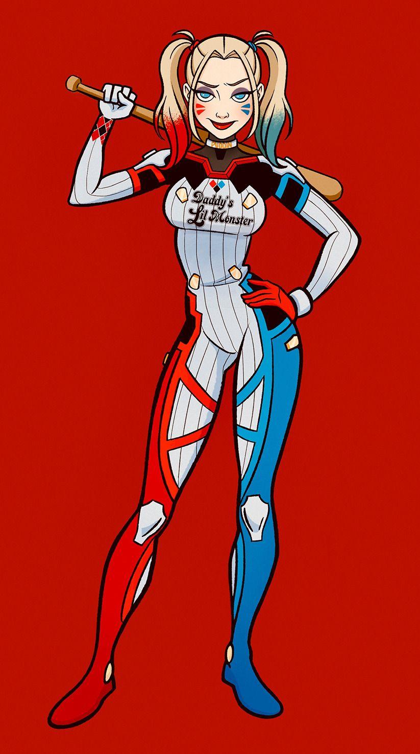 Pin En Joker Harley Quinn