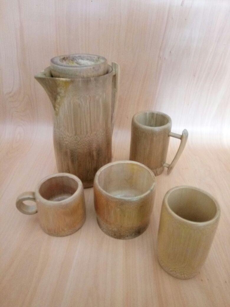 Bamboo Bowl Bamboo Teapot Bamboo Mug Bamboo Cup Bamboo Glass