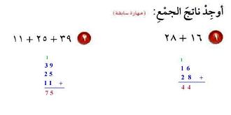الرياضيات سادس إبتدائي الفصل الدراسي الأول Math Math Equations