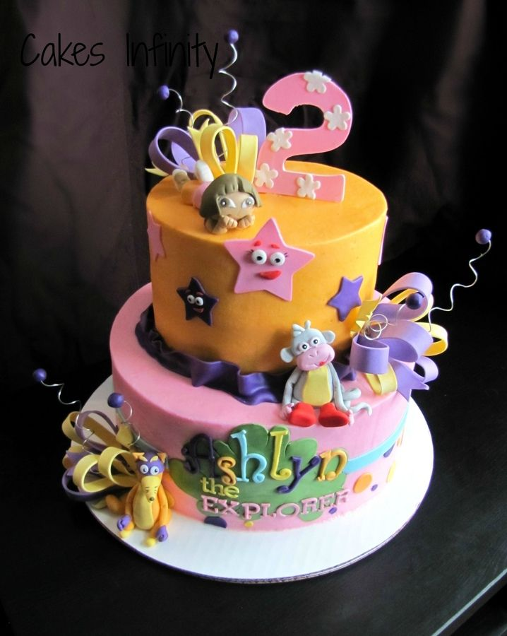 Dora Birthday Cake Cakes and Cupcakes for Kids birthday party