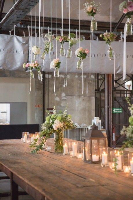 Le Mariage Esprit Industriel De Pauline Et Geoffrey Mariages Deco Mariage Deco Mariage Champetre Et Deco Table Mariage