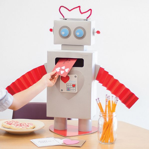 Robot Valentine's box || Craft Smith || At Michael's Stores ...