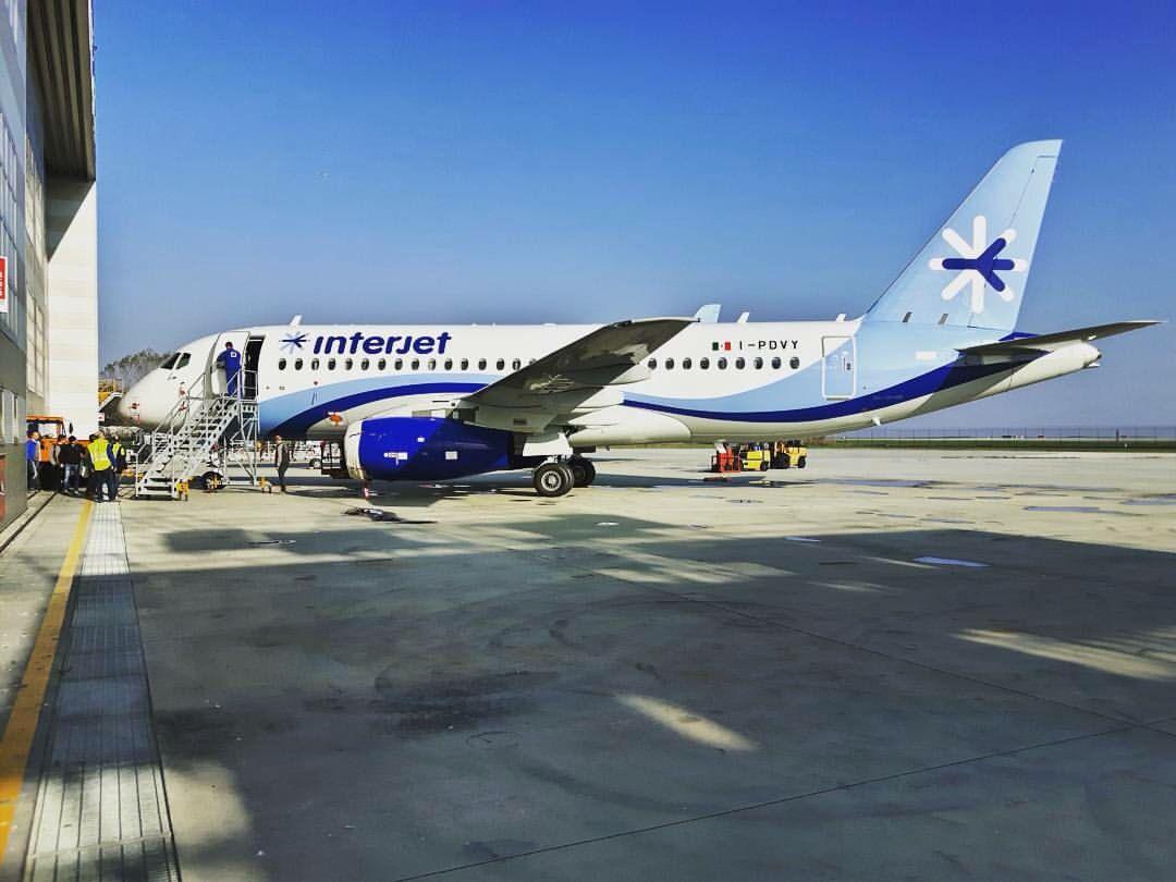 Interjet Sukhoi Superjet